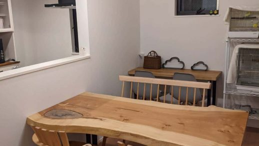 落ち着いた雰囲気の食卓
