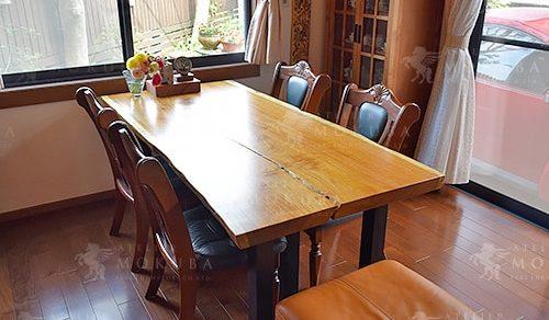 モビンギ一枚板ダイニングテーブル