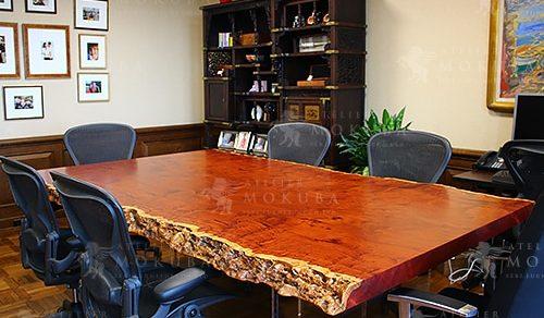 花梨(カリン)一枚板テーブル