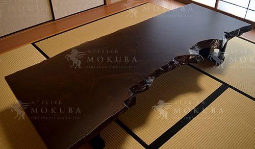 神代欅 座卓テーブル