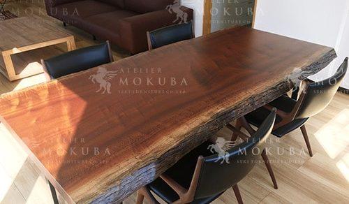 サペリマホガニーダイニングテーブル