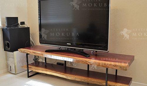 コクレン ダイニングテーブル、パープルハートTVボード