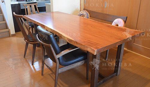 ケヤキ ダイニングテーブル