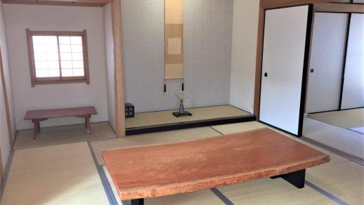 水目桜 一枚板 座卓