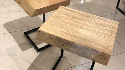 使いやすい!一枚板サイドテーブルのご紹介