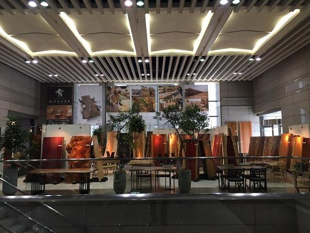 一枚板特別販売会 inアトリエ木馬新宿ギャラリー