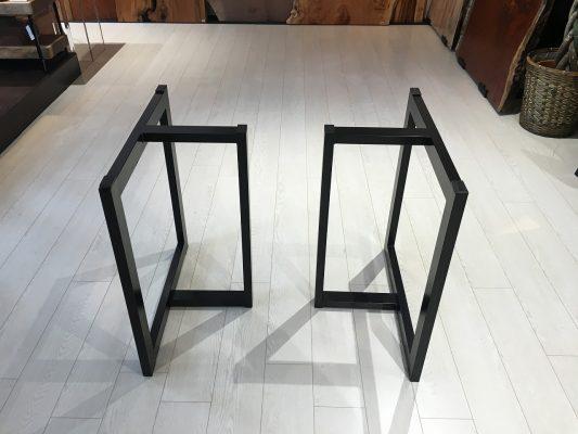 一枚板テーブルの選び方~脚編~